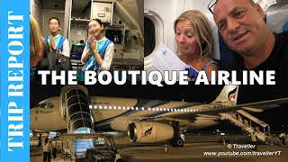 Tripreport  - AWESOME AIRLINE! Bangkok Airways flight from Koh Samui  to Bangkok - Boutique Airline!
