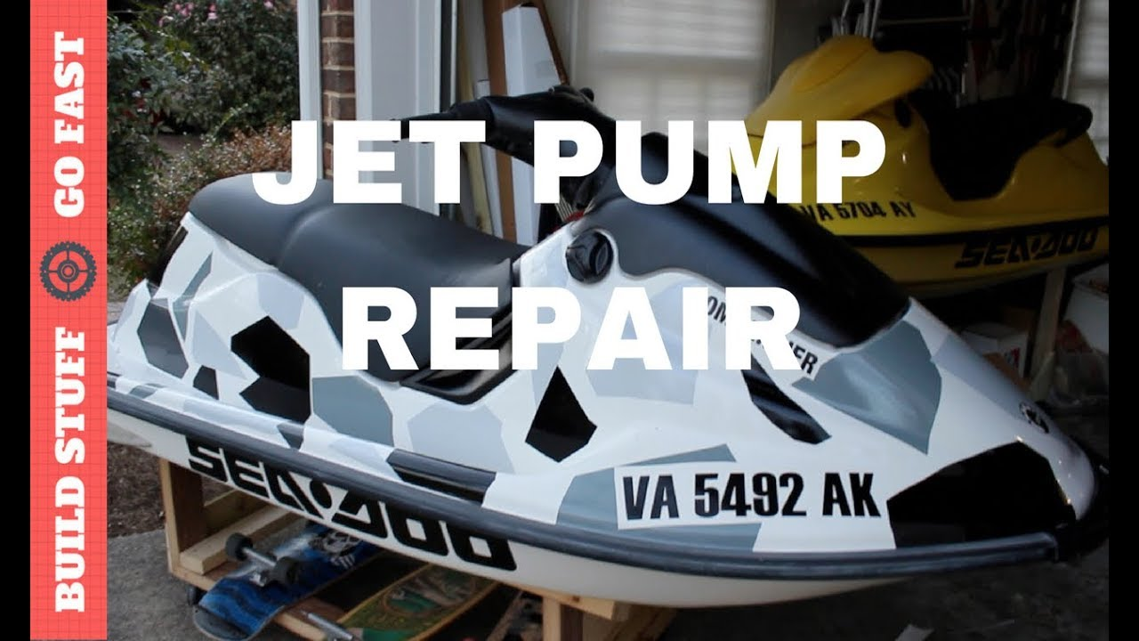 How to Replace Sea Doo Jet Pump Wear Ring - Worst Case Scenario