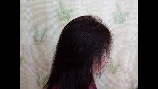 Как подстричь пряди у лица