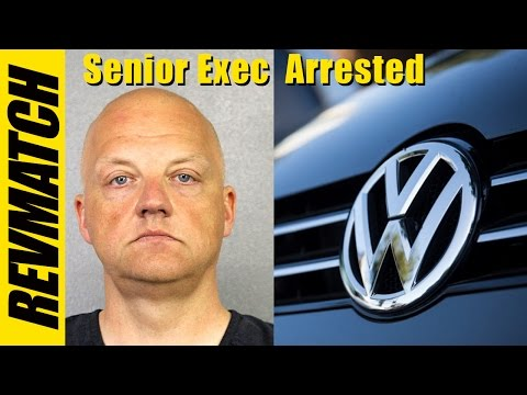 VW TDI Buyback - Senior VW Executive Arrested!