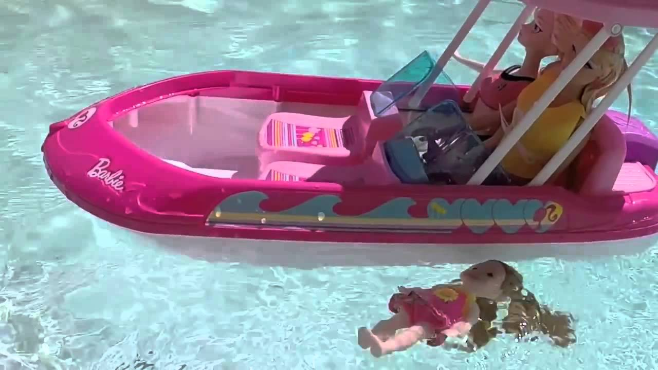 Barbie Mike The Merman Saves Elsa, Anna and Frozen Kids from Glam ...