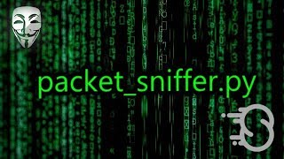 coding - Packet Sniffer in Python  Offensive Python Tutorial 8