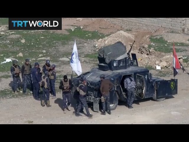 The Fight For Mosul: Iraqi security forces storm city's airport