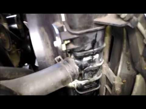 Ford radiator repair fiberglass epoxy by froggy