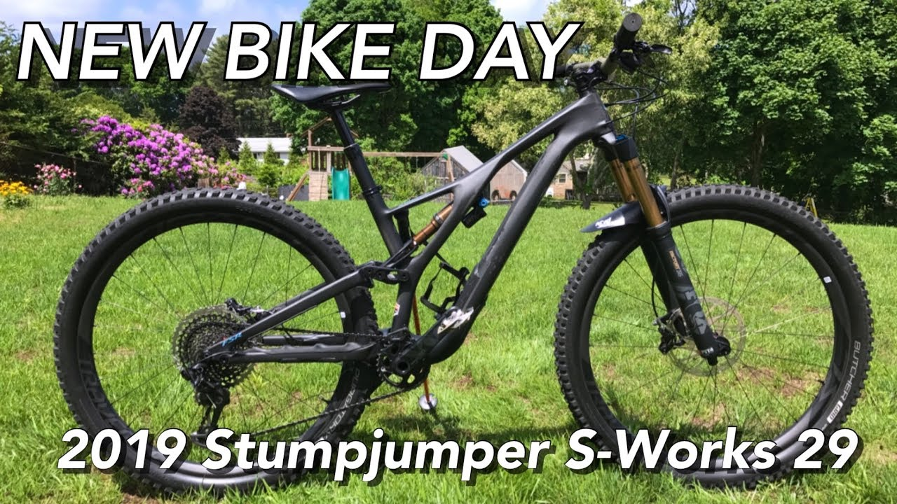 3c4899870db JC TRAILS 2019 Specialized Stumpjumper 29 S-Works Bike Check   NEW BIKE DAY!