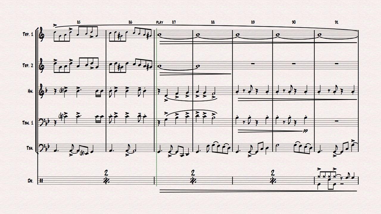 Libertango - Astor Piazolla - Tango Nuevo - Brass Quintet w  drums