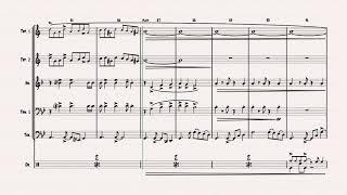 Libertango - Astor Piazolla - Tango Nuevo - Brass Quintet w. drums Resimi