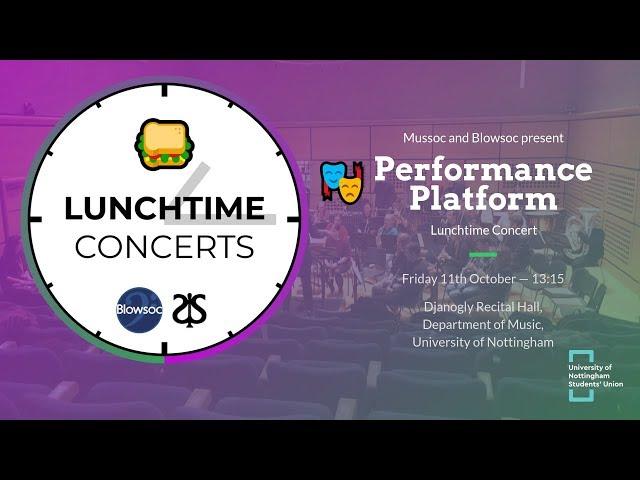 🎭 Performance Platform LTC (Autumn 2019)