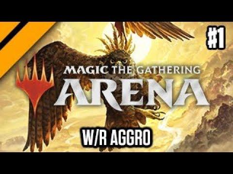 MTG: Arena M19 Quick Drafts - W/R Aggro P1 (sponsored)