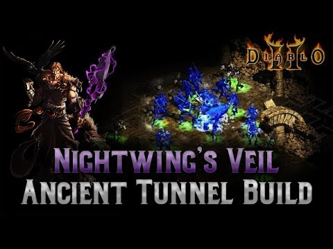 Super Underrated Ancient Tunnel Farming Build - Nightwing's Infinity Wind Druid Build - Diablo 2