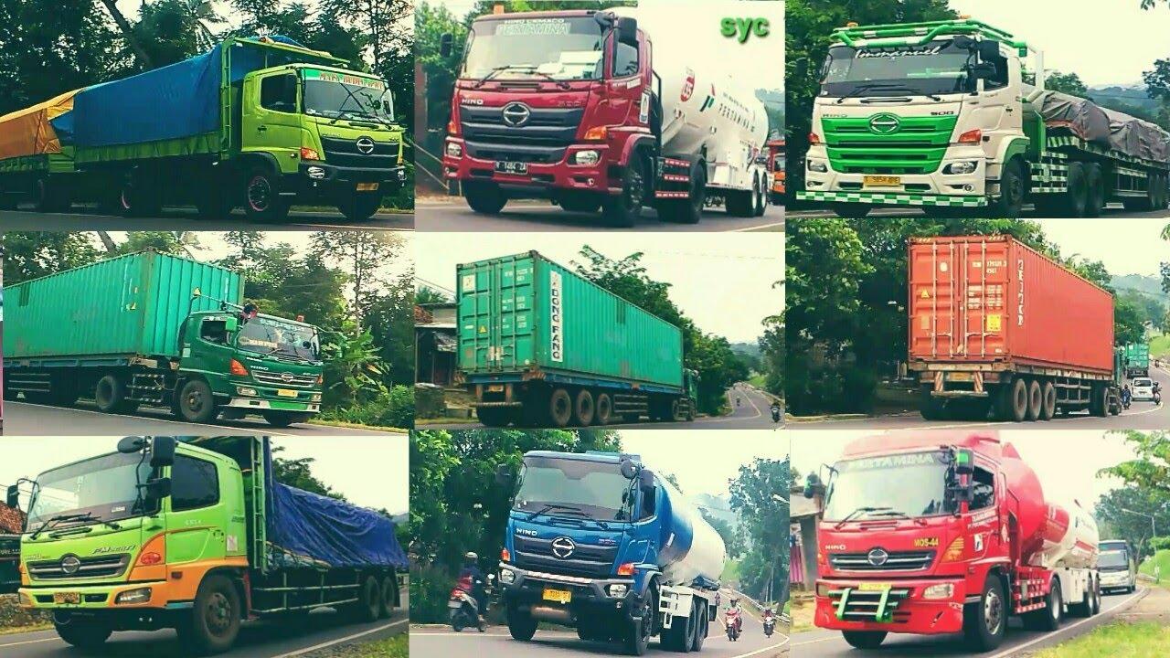 TRUK JUMBO CIKAKAK!! Truck Trailer Truk Kontainer Gandengan Tronton Mercy Axor Hino Fuso Isuzu