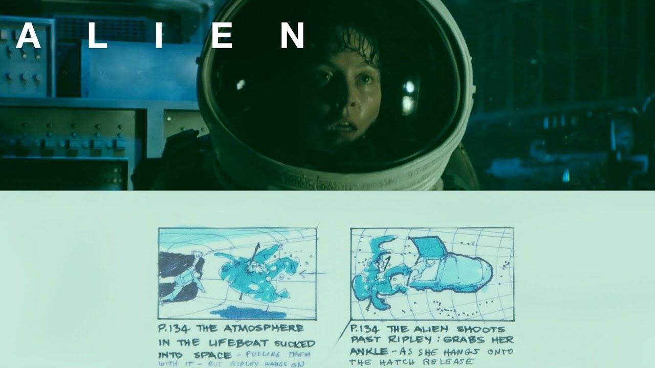 ALIEN (1979) | From Storyboard to Screen | ALIEN ANTHOLOGY