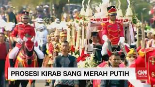 Full - Prosesi Kirab Sang Merah Putih Dari Monas - Istana Negara; Bersatu Indonesia