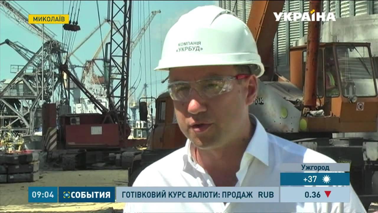 У Миколаєві зводять найбільший в Україні завод з переробки соняшнику та сої 9bd0a8408ff27