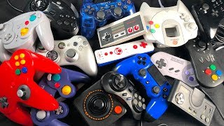 Top 5 GAME CONTROLLERS of All-Time! — Please Help us CHOOSE #1