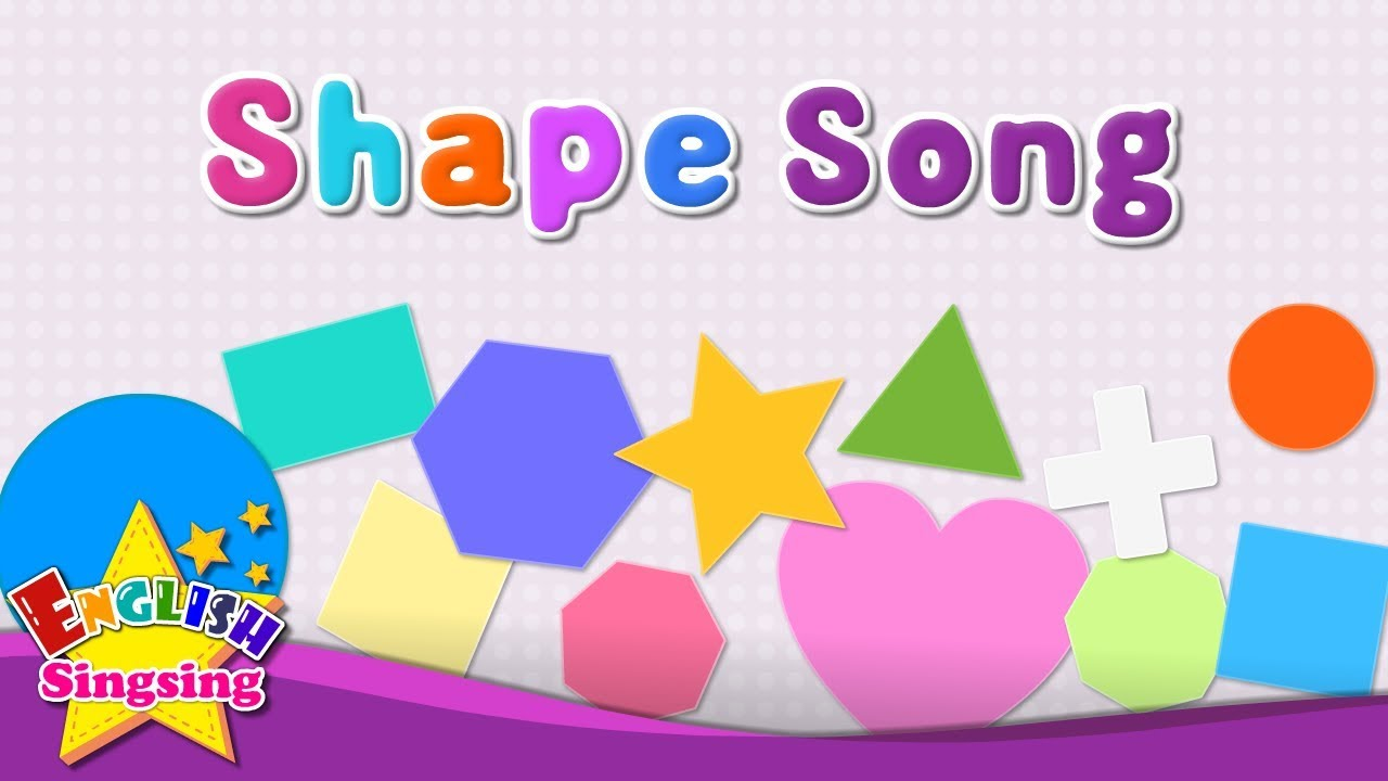 Shape Song - English Kids Song - Learn about Shapes - Kindergarten  Educational Song