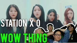 "COLLAB OF THE CENTURY? ""WOW THING"" - STATION X 0 (MV Reaction)"