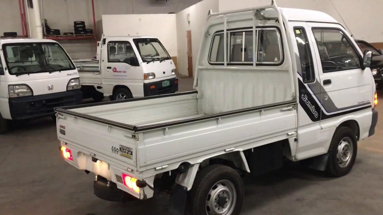 Daihatsu Hijet Jumbo 4WD Toyota Minitruck