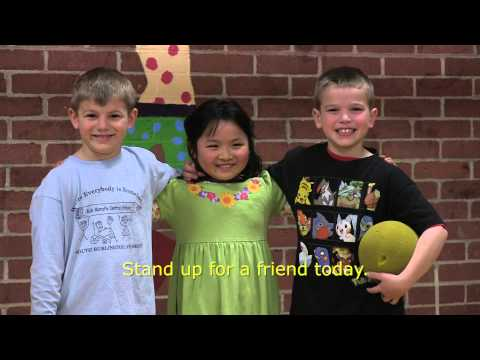 """Rick Marcotte Central School: """"Be a Buddy"""""""