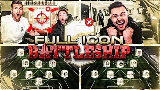 FIFA 21: FULL ICON BATTLESHIP Wager vs GamerBrother ENDET TIEF im LOCH ... 🕳  ☠️