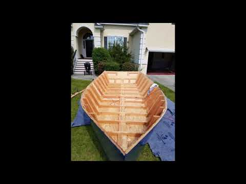 Building A Wooden Boat In My Garage