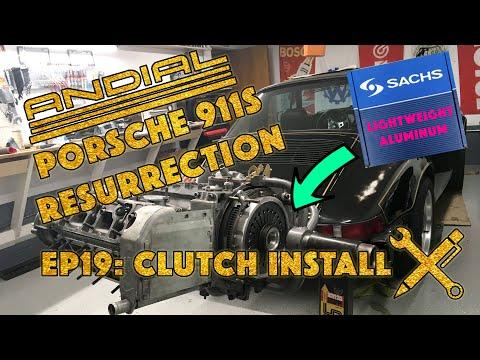 DIY Aircooled Porsche 911 Clutch Replacement, Sachs Lightweight Racing, Projekt Airkult Episode 19