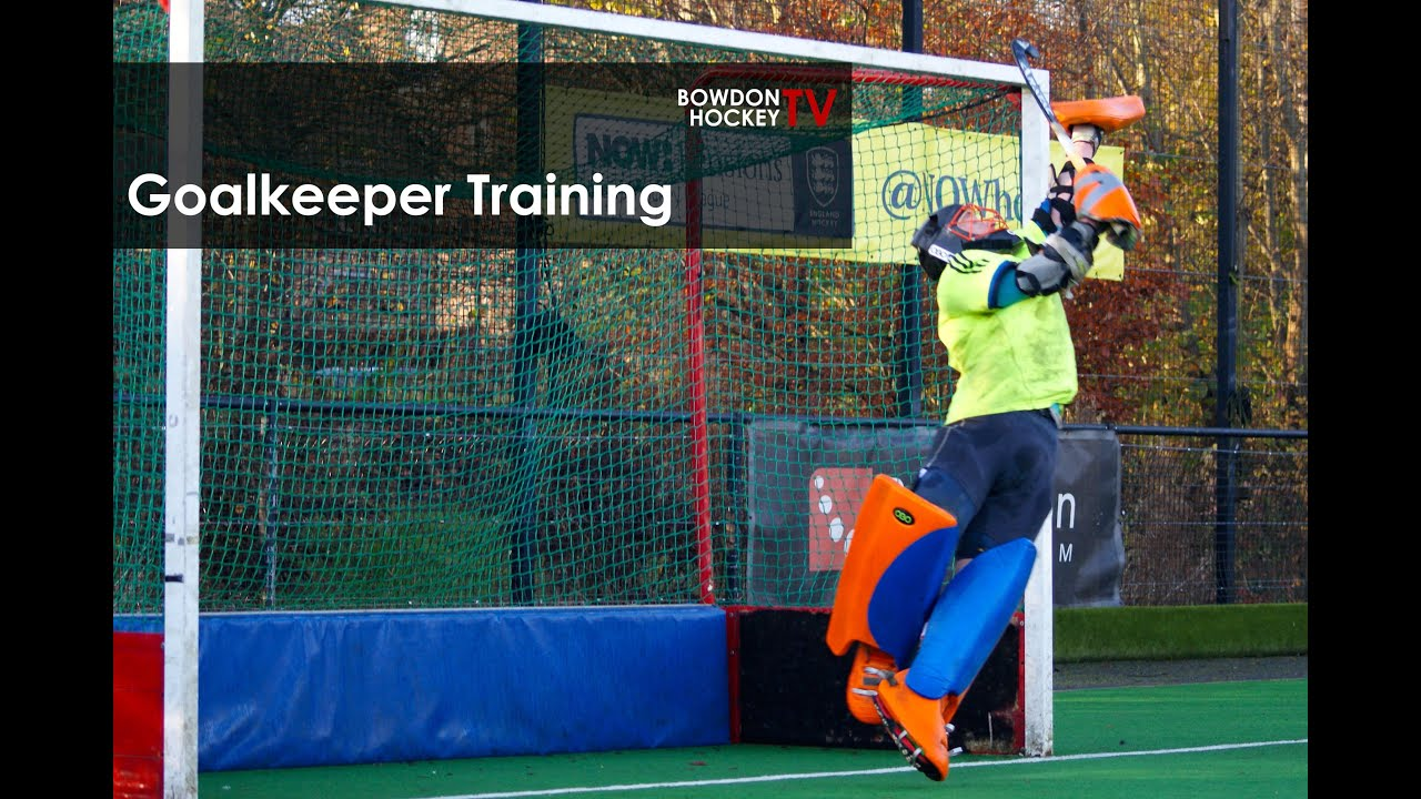 Field Hockey Goalkeeper Training Drills Youtube
