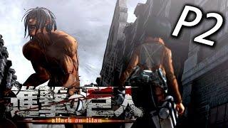 Attack on Titan《進擊的巨人》Part 2 - 這遊戲好熱血哦!!![中文版]