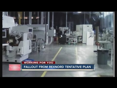Rexnord employees returned to work on Monday