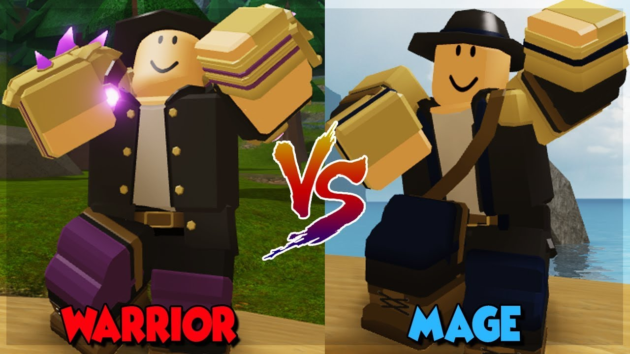 Mage Vs Warrior Who Is Better In Dungeon Quest All New Spells In