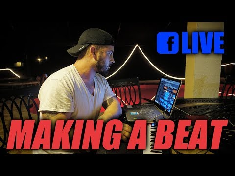 Facebook LIVE: Making A Beat From Scratch in Florida