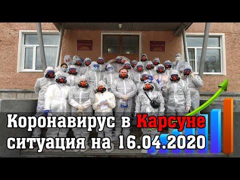 Коронавирус в Карсуне ситуация на 16.04.2020! СРОЧНО!