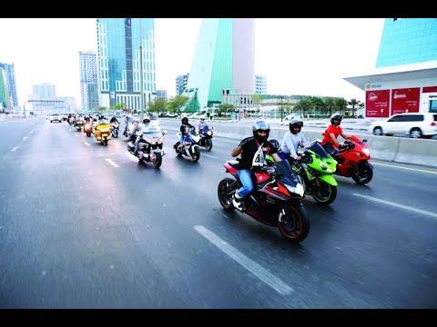 دبي تحتضن مسيرة الدراجات النارية للتوعية بالسلامة