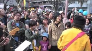 平和に生きる権利 El Derecho de Vivir en Paz 11/4/10, Koenji Tokyo N...