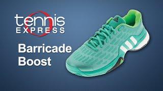 adidas Barricade 2016  Boost Shoe Review | Tennis Express