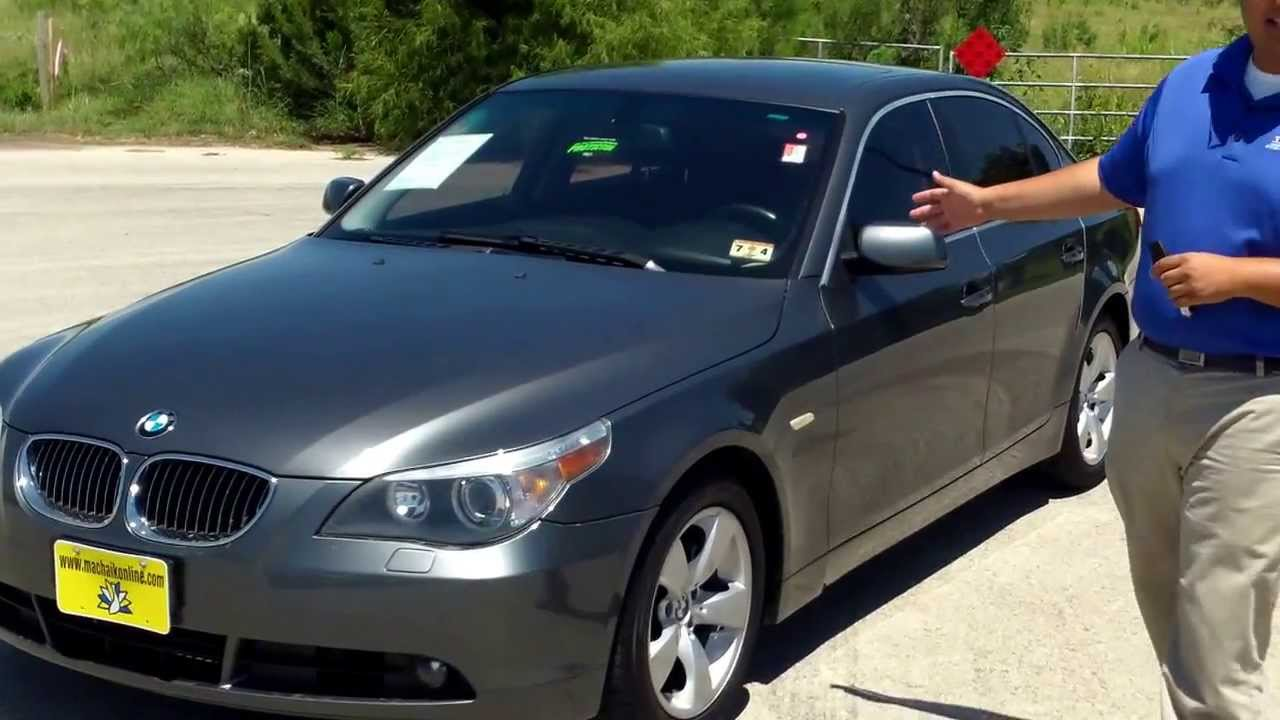 2007 Bmw 525i For Sale Youtube