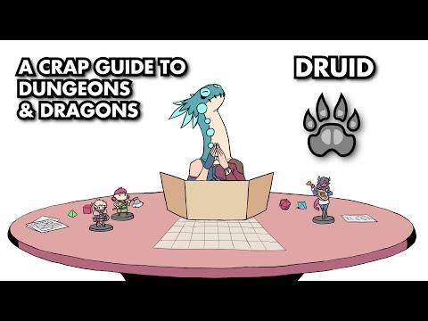 A Crap Guide to D&D [5th Edition] - Druid