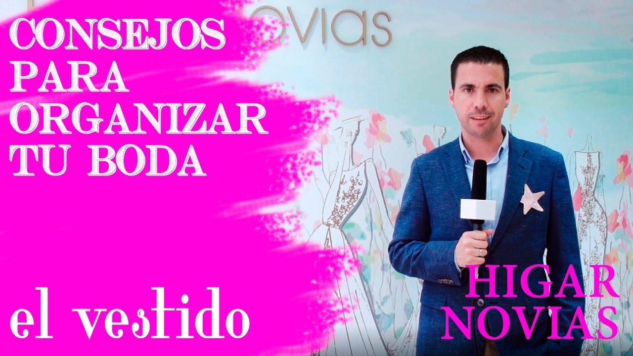 EL VESTIDO DE NOVIA, POR HIGAR NOVIAS, EN LA FERIA DE LA BODA DE ...