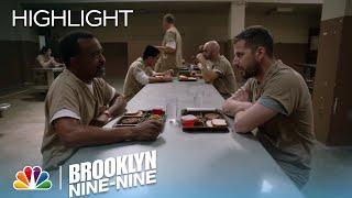 Jake Realizes His Only Friend In Prison Is A Cannibal | Season 5 Ep. 1 | BROOKLYN NINE-NINE