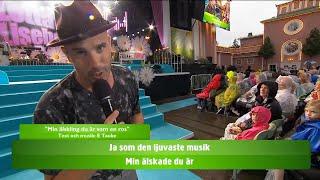 Allsång: Min älskling du är som en ros - Lotta på Liseberg (TV4)