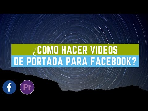 Como hacer Video Portada para Facebook - Adobe Premiere CC 2017 - | OramProductions