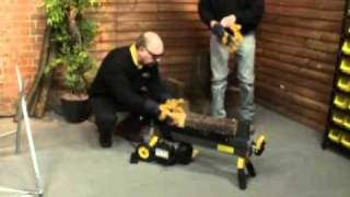 4 Ton Electric Log Splitter