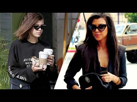 Sofia Richie STEALING Kourtney Kardashian's Look to Keep Scott Disick Happy??