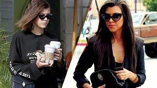 Sofia Richie STEALING Kourtney Kardashian's Look to Keep Scott Disick Happy??