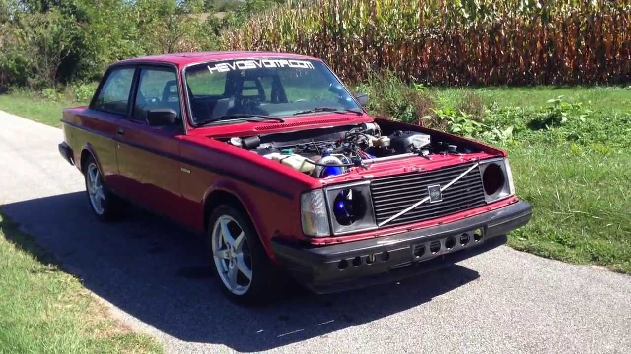 Volvo 242 Turbo - Part 2 (Holset HX40 Installed)