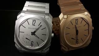 Bulgari Octo Automatic Sunblasted-обзор часов