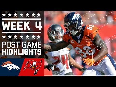 Broncos vs. Buccaneers | NFL Week 4 Game Highlights