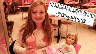 American Girl Place Birthday Celebration + Opening Maryellen!