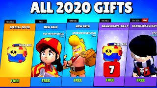 ALL 2020 GIFTS - Brawl Stars