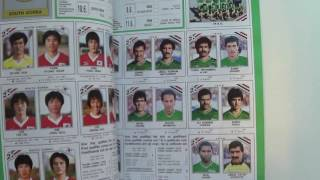 PANINI WORLD CUP FOOTBALL COLLECTIONS 1970 - 2014